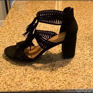 Rampage heels with tassel